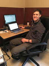dan at desk