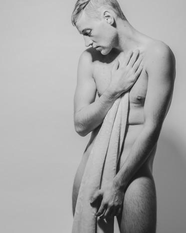 Male Nude Boudoir Photograph