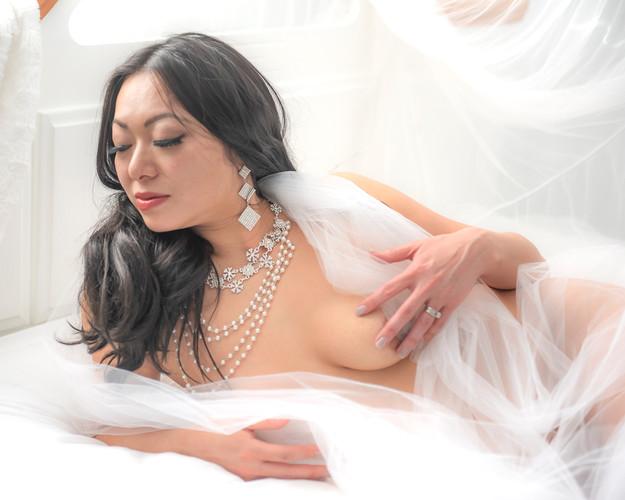 Implied Nude Boudoir Photograph