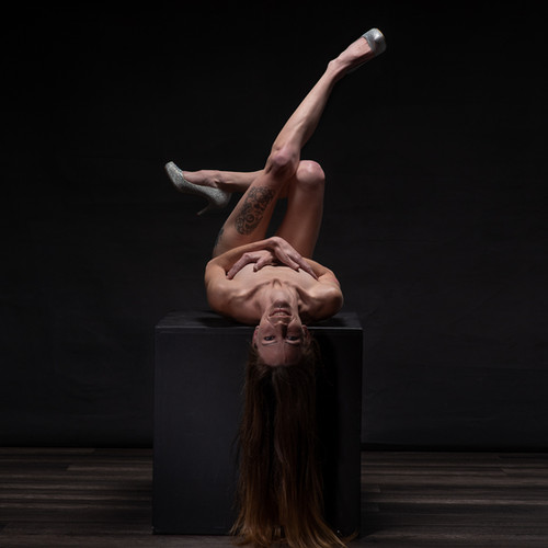 Nude Boudoir Photograph