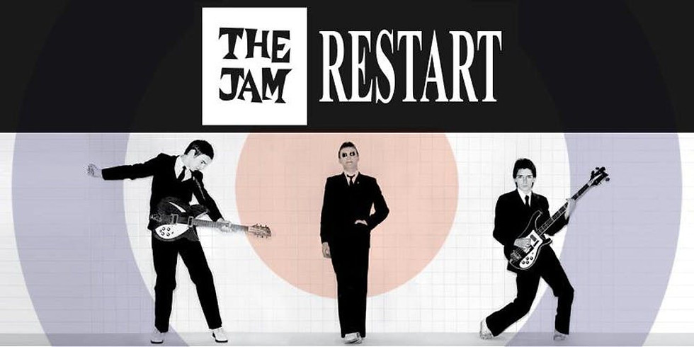 The Jam Restart £10 seat only £25 show and 2 course meal