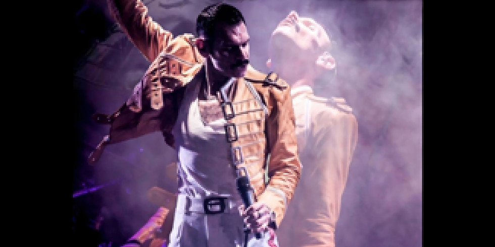 Freddie by Gary Goodmaze £10 ticket only or £25 including 2 course meal
