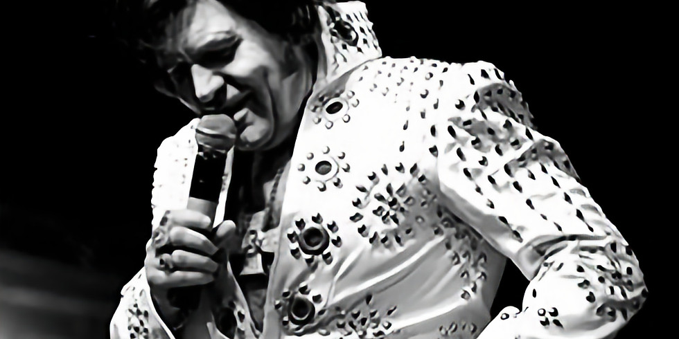 Elvis by Neil Duncan £10 ticket only or £25 including 2 course meal