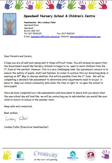 Letter from our Headteacher
