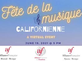 Alianza Francesa tendrá Fiesta de la música californiana