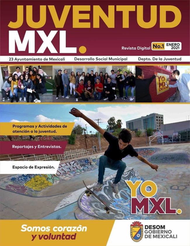 Presenta DESOM su revista Juventud Mxl