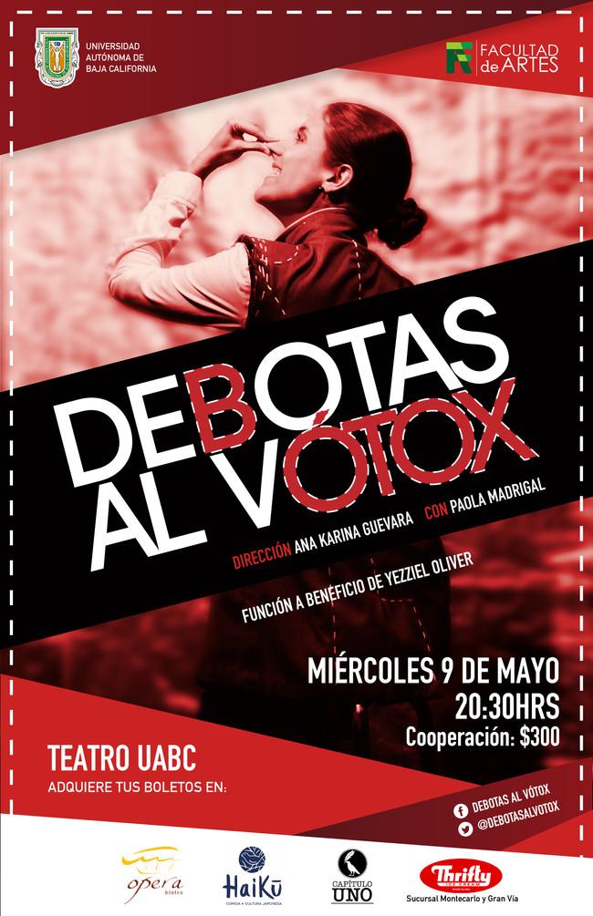 """Regresa """"DEBOTAS AL VÓTOX"""" a Mexicali"""
