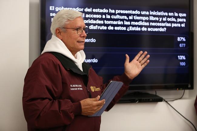 Propone Gobernador Jaime Bonilla legislar sobre el derecho de la población al ocio