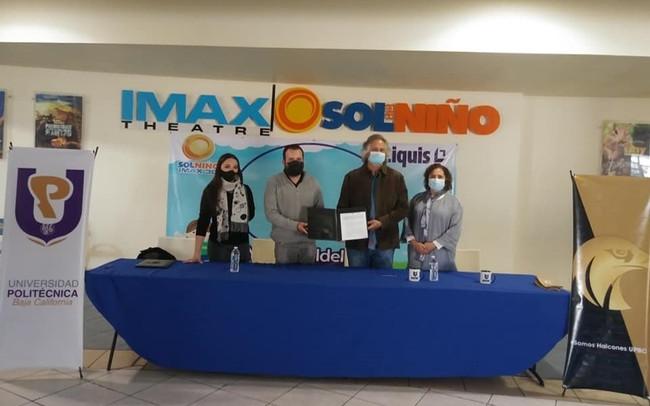 Firma de convenio de colaboración Museo Sol del Niño y Universidad Politécnica de Baja California
