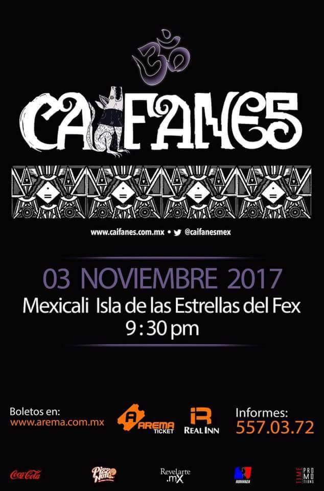 Caifanes en Mexicali