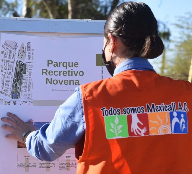 """Avanza retiro de basura y escombro en """"Tu Parque Tsm"""""""
