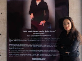 """Inauguran la muestra de fotografías """"Dátil Mexicalense: Manjar de los Dioses"""" de Orfalinda Hinojosa"""