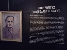 """Rubén García Benavides plasma """"Un Canto al Espacio Horizontal"""""""