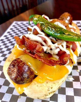 Hot dogs de campeonato