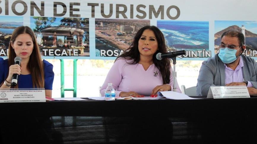 Se instaló en Ensenada Comisión de Turismo por la Diputada Claudia Agatón