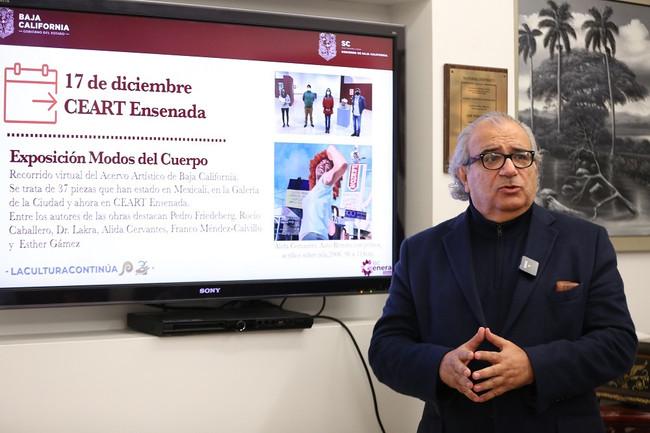 """Mantiene Gobierno de BC el esquema """"La Cultura Continúa"""""""