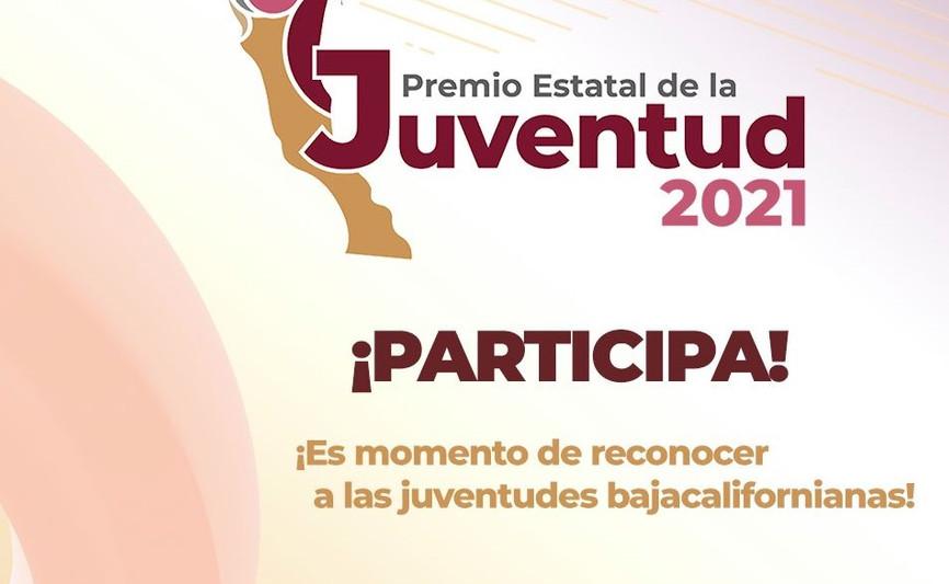 Participa en el Premio Estatal de la Juventud 2021