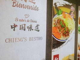 Chieng's Bistro la fusión chino cachanilla saludable