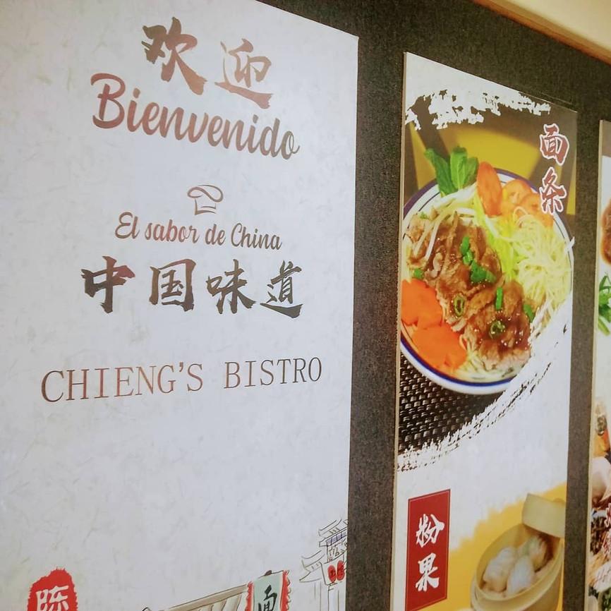 Chieng's Bistro la fusión chino cachanilla saludable