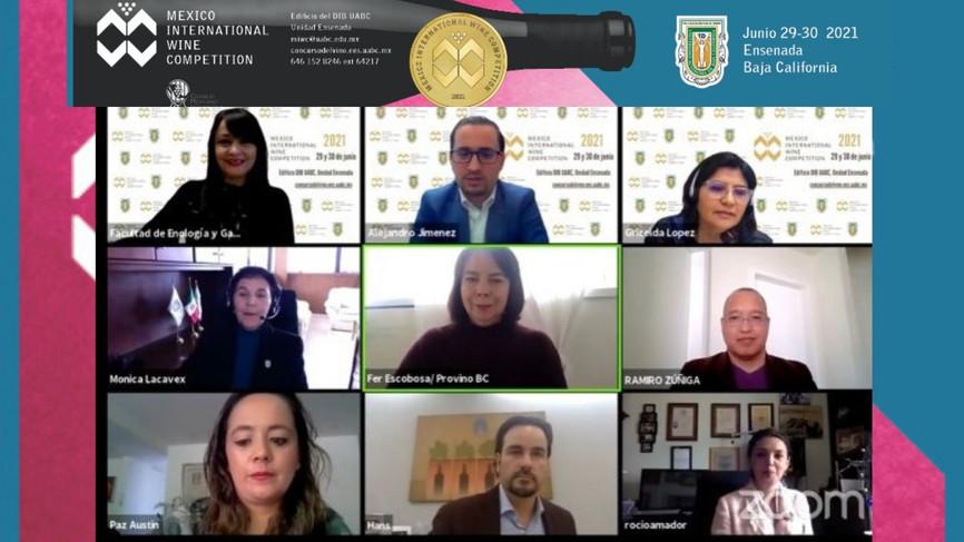 "Presenta UABC ""México International Wine Competition"""