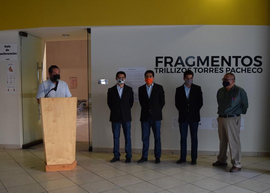 Fue inaugurada la Serie Fragmentos de los Trillizos Torres Pacheco en CEART Mexicali