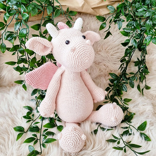 Little Stories x Mama H Dolly the Dragon Soft Toy