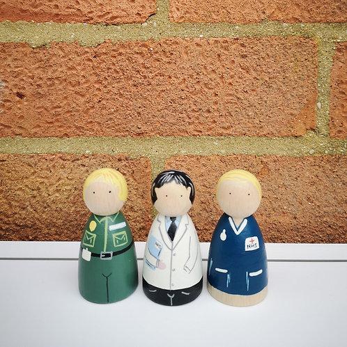 Little Stories x The Peg Basket NHS Set