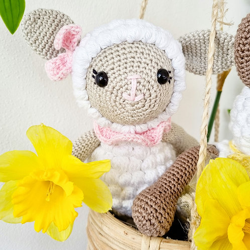 Little Stories x Mama H Lottie The Lamb Soft Toy