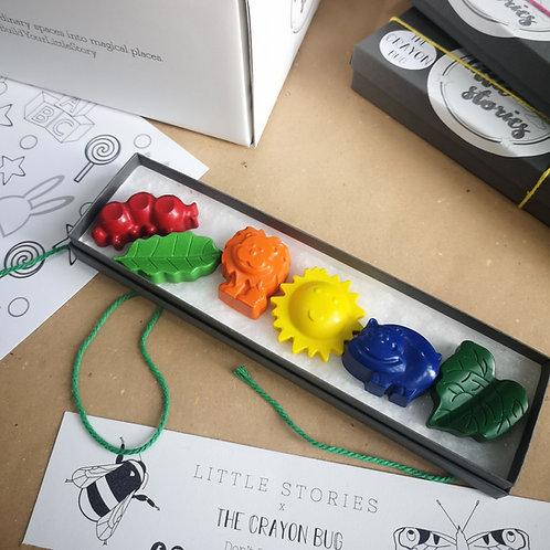 Little Stories x The Crayon Bug Safari Set