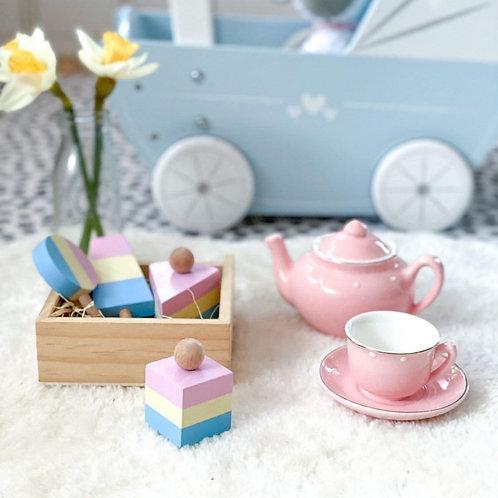 Perfect Pastels Sweet Treats Wooden Play Set
