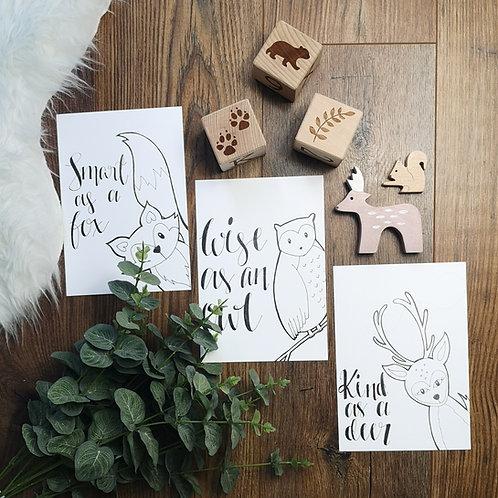 Kind As A Deer Print