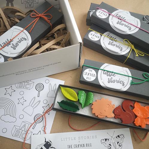 Little Stories x The Crayon Bug Woodland Set