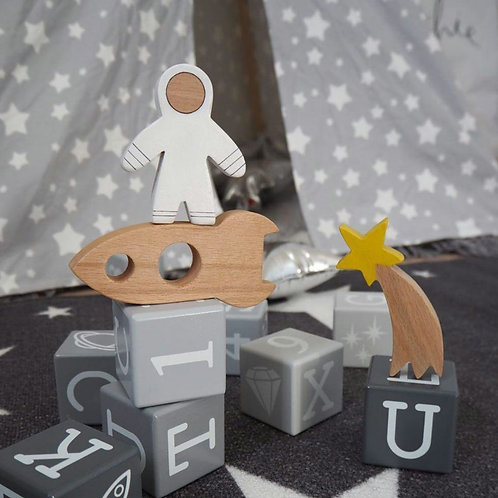 Space & Beyond Wooden Set