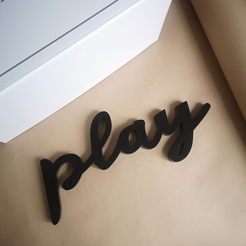 Wooden Play Wall Art
