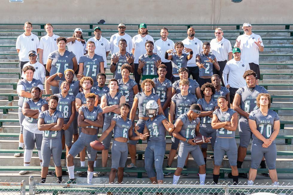 Helix 2019 Varsity Football Team Photos-
