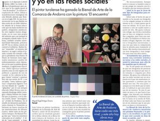 Entrevista en el Diario de Teruel