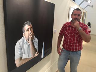 Primer premio de pintura en la IV Bienal de Arte Comarca de Andorra Sierra de Arcos