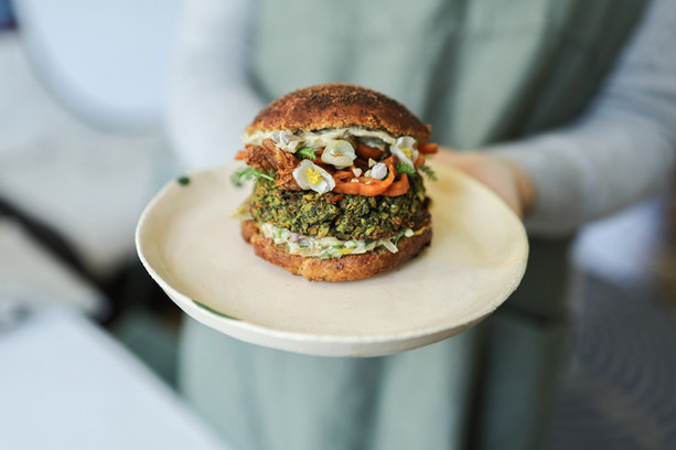 Primesautier | Burger vegan forestier