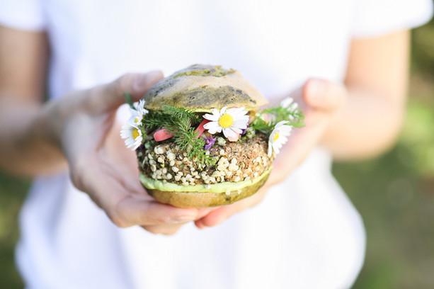 Primesautier | Burger vegan sauvage