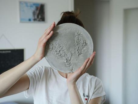 - DIY - un plateau en ciment