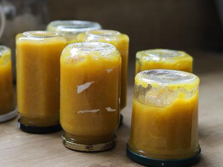 - Recette - confiture de courgettes jaunes, citron confit et gingembre