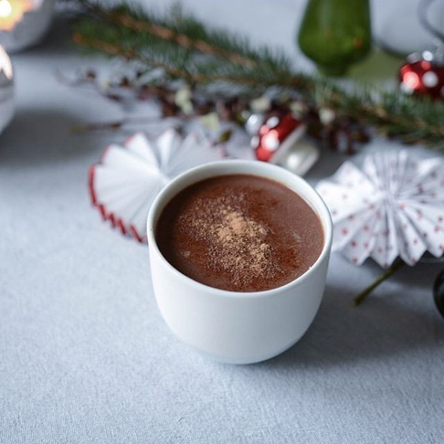 Chocolat chaud vegan aux épices | Primesautier Traiteur