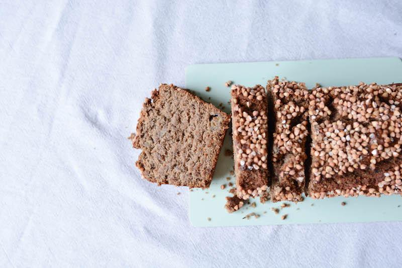 Banana bread vegan, sans gluten, et zéro déchet - Primesautier