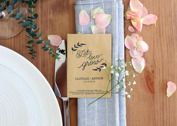 La Fabrique à sachet - cadeaux d'invités mariage green et originaux