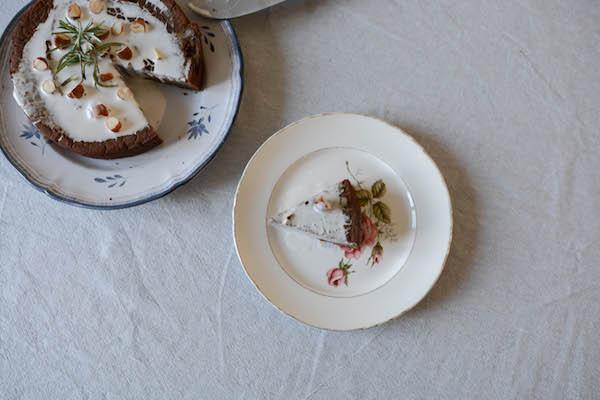 castagnaccio - recette vegan et sans gluten - Primesautier Traiteur
