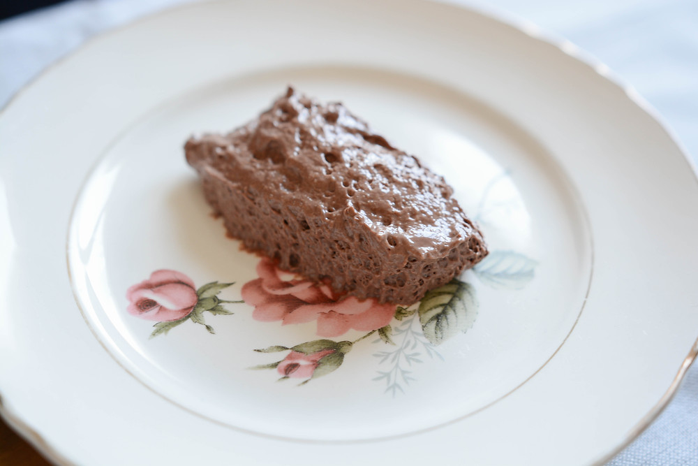 Mousse au chocolat vegan - Primesautier traiteur végétal