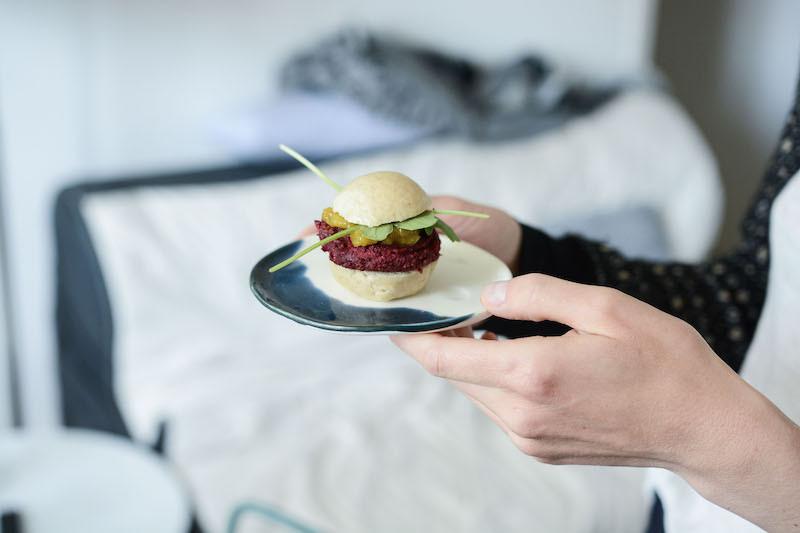 Burger vegan | Primesautier traiteur vegan
