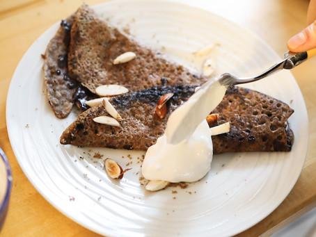 - Recette - galette de sarrasin au chocolat façon snack martin