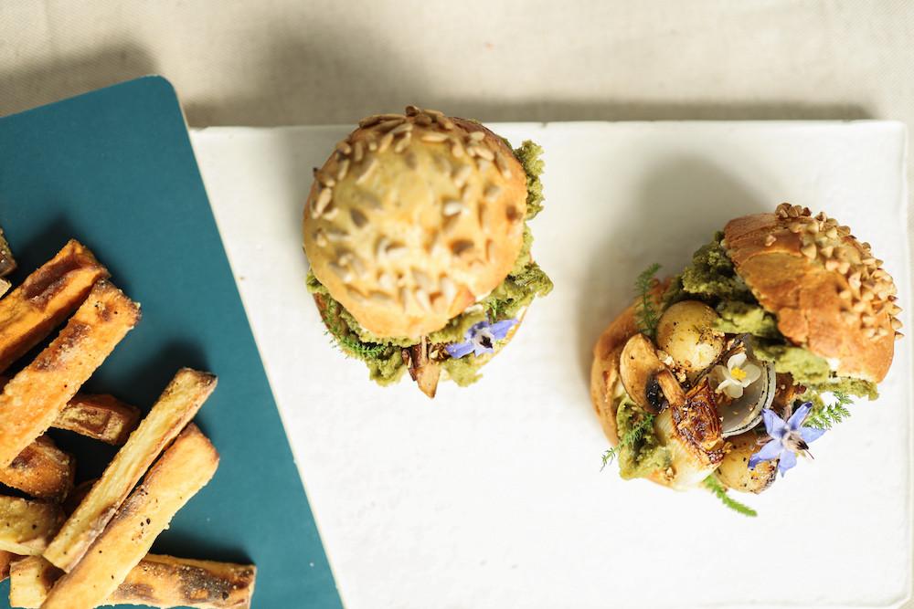 Primesautier | Burger vegan des sous-bois