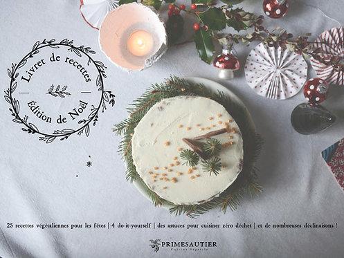 Ebook Livret de recettes - Édition de Noël